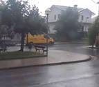 Sigue la alerta por tormentas este domingo en Navarra