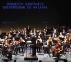 La Orquesta Sinfónica de Navarra y Manuel Blanco, en la Tubala Brass Week de Tafalla