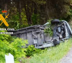 Un herido tras sufrir un accidente en Cadreita