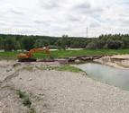 Comienza la reparación de las infraestructuras dañadas en la última crecida del Ebro