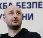 Un periodista opositor ruso reaparece en Kiev y denuncia que Rusia intentó matarlo