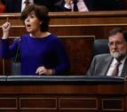 Santamaría avisa a Torra de que el Gobierno estará pendiente de que cumpla la ley
