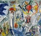 La intimidad de Chagall, en el Museo Guggenheim Bilbao