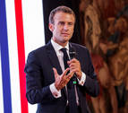 Macron dice a Trump que el nacionalismo económico perjudicará también a EEUU