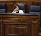 Santamaría justifica la ausencia de Rajoy en que el debate es de Pedro Sánchez