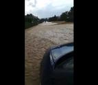 Una tormenta deja 80 litros por metro cuadrado en una hora en Domeño, Arboniés y Usún