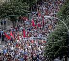 Los grupos parlamentarios navarros difieren al valorar la manifestación del 2J