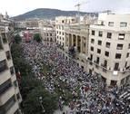 La política lingüística del Gobierno sacó a miles de personas a la calle
