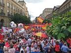 Así les hemos contado la manifestación contra la política lingüística del Gobierno de Barkos