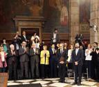 Los consellers prometen el cargo en un acto que reivindica a