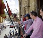 El rosado empapa San Martín de Unx