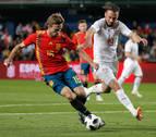 El dominio de España no encontró premio ante una compacta Suiza