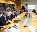 Ejecutivos de multinacionales analizan  en la UPNA cómo ampliar su actividad en Navarra