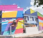 Tudela inicia su VI Muestra de Arte Urbano