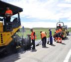 Cerrada al tráfico dos semanas la carretera de los Altos de Peralta
