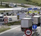 La regulación del puerto de Belate desvía 2.000 camiones a la A-15