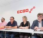 CC OO pide el fin de la precarización laboral en el sector industrial de Navarra