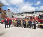 Seis nuevos vehículos para el Servicio Navarro de Bomberos