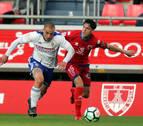 Numancia y Zaragoza empatan en Soria y se la jugarán en La Romareda
