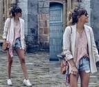 Cómo llevar shorts vaqueros en la ciudad