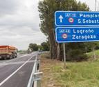El ramal de la AP-15 evita en la primera semana 400 camiones al día en Tudela