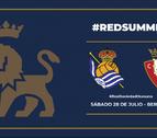 Osasuna jugará un amistoso ante la Real Sociedad en Bergara