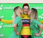El suizo Kung, primer líder tras el triunfo de BMC en la contrarreloj por equipos