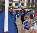 La cita de Pamplona fue la que más jugadores del Circuito Plaza 3x3 congregó