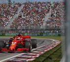 Vettel saldrá desde la pole en el GP de Canadá