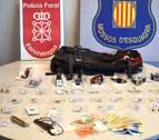 Desarticulada una banda que cometió 12 robos en domicilios en Navarra