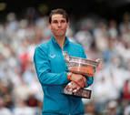 Nadal gana su undécimo Roland Garros