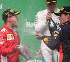 Vettel recupera el liderato en Montreal y Alonso repite abandono