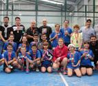 Once equipos participaron en el Campeonato Navarro de Menores