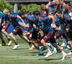 Carvajal vuelve con el grupo y Piqué entrena con normalidad