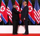 Trump y Kim firman un