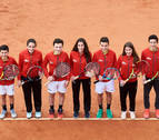 El Campeonato de España cadete comienza en el Club de Tenis de Pamplona