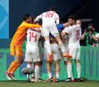Irán gana in extremis con un gol en propia puerta de Marruecos