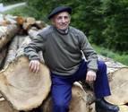 Martín Landa, memoria viva del transporte por cable de troncos en el Pirineo navarro