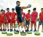 Un navarro ante el reto monumental del fútbol chino
