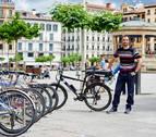 """El 97% de las bicis aparcadas en Pamplona """"se puede robar con herramientas básicas"""""""