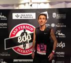 Marco Álvarez se corona en los 42 kilómetros de la V EDP San Fermín Marathon