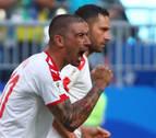 El serbio Kolarov derriba la fortaleza de Costa Rica