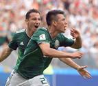 México da la primera campanada del Mundial al derrotar a Alemania