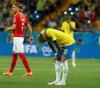 Brasil se atasca ante Suiza en el debut mundialista