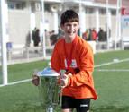 El juvenil navarro Oihan Sancet, ex de Osasuna, hará la pretemporada con el Athletic