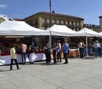 La feria de artesanía abre este jueves en la Plaza del Castillo