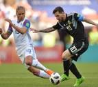 El Argentina-Islandia tuvo una audiencia del 99,6% en el país vikingo