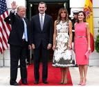 Trump invita a los Reyes a una visita de Estado a EE UU en abril