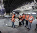 Los grupos parlamentarios respaldan la apertura del pabellón Navarra Arena