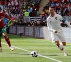 Un gol de Ronaldo elimina a Marruecos del Mundial